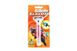Станок для бритья мужской Slalom Gillette 1шт