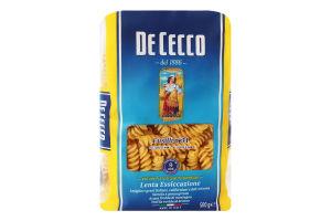 Изделия макаронные Fusilli De Cecco м/у 500г