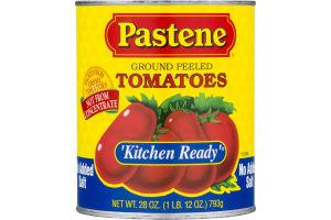 Pastene 'Kitchen Ready' Tomatoes Ground Peeled No Salt Added