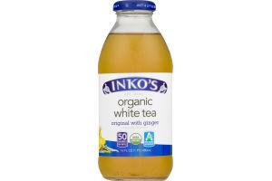 Inko's Organic White Tea Original with Ginger