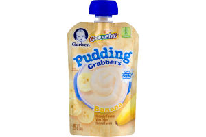 Gerber Graduates Pudding Grabbers Banana