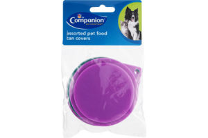 Companion Assorted Pet Food Can Covers - 3 CT