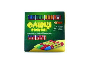 Олівці Тікі воскові 24 кольори 51611-ТК