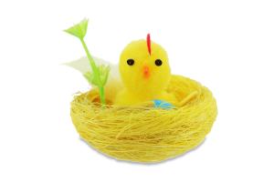Сувенир Цыпленок в гнезде 5,5см D*1