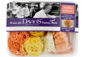 Davio's Express Chef Meals Stuffed Salmon