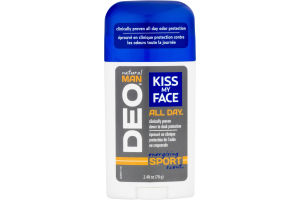 Kiss My Face Deodorant Natural Man Deo Energizing Sport Scent
