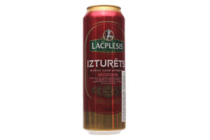 Пиво Lacplesis Izturets светлое ж/б