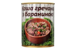 Каша гречневая с бараниной L'appetit ж/б 340г
