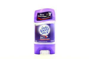 Дезодорант-стик 24/7 Невидимая защита гель Lady Speed Stick 65г