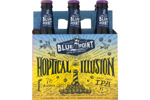 Blue Point Brewing Company Hoptical Illusion IPA Bottles - 6 PK