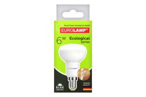 Лампа світлодіодна LED 6W E14 4000K Eurolamp 1шт
