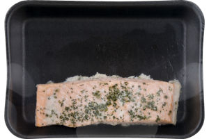 Lagniappe Poached Salmon with Dill