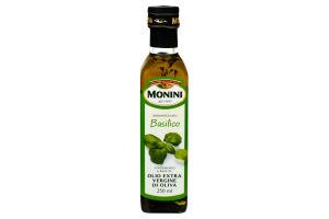 Олія оливкова Extra Virgin з базиліком Monini с/пл 250мл