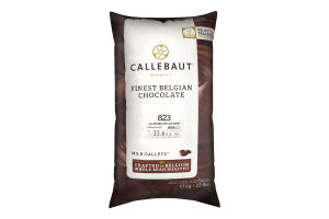 Шоколад 33.6% молочний Callebaut м/у 10кг