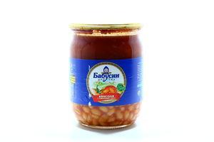Фасоль Бабусин продукт в томатном соусе ско 530г