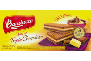 Bauducco Wafer Triple Chocolate