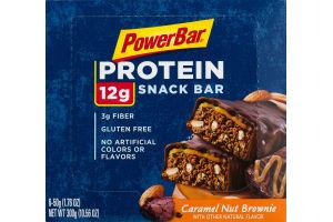 PowerBar Protein Snack Bar Caramel Nut Brownie - 6 CT