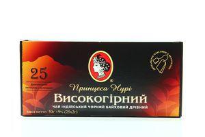 Чай черный Высокогорный Принцесса Нури к/у 25х2г