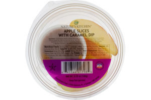Nature's Kitchen Apple Slices with Caramel Dip