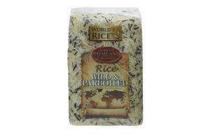 Смесь риса дикого и Парбоилд World's Rice м/у 900г