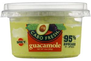 Cabo Fresh Guacamole Spicy