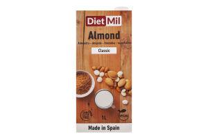 Молоко рослинне з миндалю Classic Dietmil т/п 1л