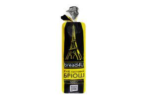 Хліб нарізний тостовий Бріош Хлібодар м/у 500г