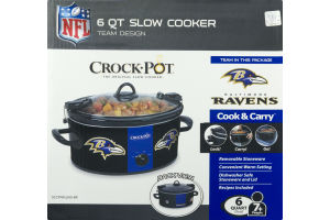 Crock-Pot Baltimore Ravens - 6 Quart