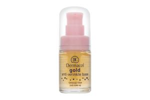 База под макияж Gold anti-wrinkle make-up base Dermacol 15мл