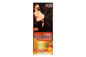 Крем-краска для волос №141 Шоколадный Рябина Avena Acme Color 1шт