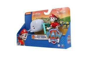 Набор для детей от 3 лет с щенка-спасателя и младенец кита Paw Patrol Spin Master 1шт