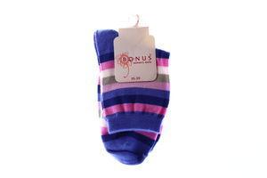 Носки женские Bonus Women's socks 2027 35-39 разноцветные