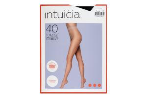 Колготки жіночі Intuicia T-Band 40den №3 чорний