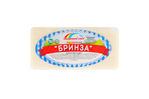 Сир 45% розсільний Бринза Здоровий світ кг