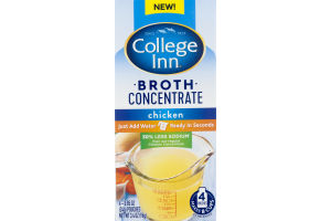 College Inn 30% Less Sodium Broth Concentrated Chicken - 4 CT