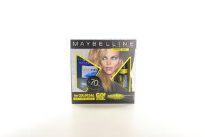Промонабір Туш для вій Гоу Екстрам 9,5мл + демакіяж для водостійкого макіяжу Maybelline 125мл