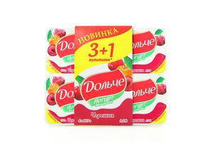 Йогурт 3,2% Черешня Дольче 4*115г