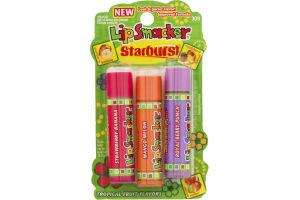 Lip Smacker Starburst Tropical Flavored Lip Glosses (309) - 3 CT