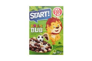 Завтраки сухие Шарики Duo Start! к/у 250г