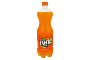 Напій безалкогольний сильногазований з апельсиновим соком Fanta п/пл 1л