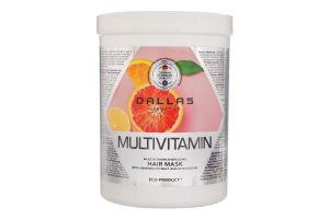 Маска для волосся енергетична Multivitamin Dallas 1000мл