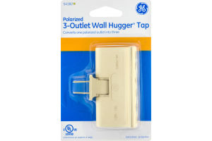 GE Polarized 3-Outlet Wall Hugger Tap