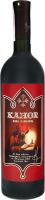 Вино 0.75л 13% червоне солодке зі смаком чорносливу Церковне Kahor пл