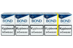 Сигареты Bond Street Blue Selection 20шт
