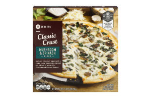 SE Grocers Pizza Classic Crust Mushroom & Spinach