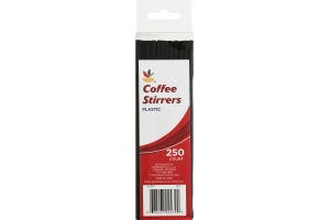 Ahold Plastic Coffee Stirrers - 250 CT