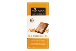 Шоколад молочный Bianca карамаль-морская соль