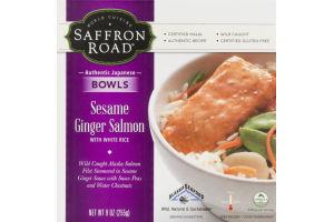 Saffron Road Bowls Sesame Ginger Salmon