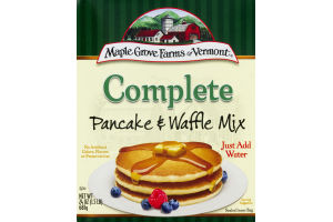 Maple Grove Farms Of Vermont Complete Pancake & Waffle Mix