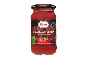 Соус Краснодарский фирменный Руна с/б 485г